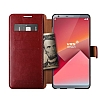 Verus Dandy Layered Leather LG G6 Kırmızı Kılıf - Resim 2