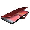 Verus Dandy Layered Leather LG G6 Kırmızı Kılıf - Resim 1