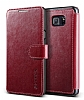 Verus Dandy Layered Leather Samsung Galaxy Note 5 K�rm�z� K�l�f