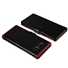 VRS Design Dandy Layered Leather Samsung Galaxy Note 8 Siyah Kılıf - Resim 4