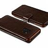 VRS Design Dandy Layered Leather Samsung Galaxy S9 Kahverengi Kılıf - Resim 4