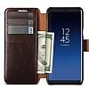VRS Design Dandy Layered Leather Samsung Galaxy S9 Kahverengi Kılıf - Resim 3