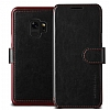 VRS Design Dandy Layered Leather Samsung Galaxy S9 Siyah Kılıf - Resim 4