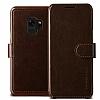 VRS Design Dandy Layered Leather Samsung Galaxy S9 Kahverengi Kılıf - Resim 2