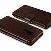 Verus Dandy Layered Leather Samsung Galaxy S9 Plus Kahverengi Kılıf - Resim 3