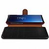 VRS Dandy Layered Leather Samsung Galaxy S9 Plus Siyah Kılıf - Resim 2