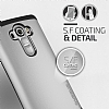 Verus Thor Series Hard Drop LG G4 Light Silver Kılıf - Resim: 11