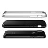 VRS Design High Pro Shield iPhone X Silver Kılıf - Resim 4