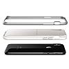 VRS Design High Pro Shield iPhone X White-Silver Kılıf - Resim 4