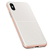 VRS Design High Pro Shield iPhone X White-Rose Gold Kılıf - Resim 1