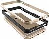 Verus Iron Bumper iPhone 6 / 6S Black + Silver Kılıf - Resim 3