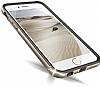 Verus Iron Bumper iPhone 6 / 6S Black + Silver Kılıf - Resim 2
