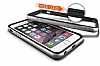 Verus Iron Bumper iPhone 6 Plus / 6S Plus Black + Silver Kılıf - Resim: 1