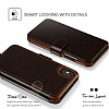VRS Design Layered Dandy iPhone X Dark Brown Kılıf - Resim: 1