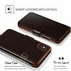 VRS Design Layered Dandy iPhone X Dark Brown Kılıf - Resim 1