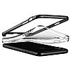 VRS Design Crystal Bumper iPhone X Silver Kılıf - Resim 3