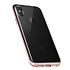 VRS Design Crystal Bumper iPhone X Rose Gold Kılıf - Resim 1