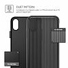 VRS Design Shine Coat iPhone X Siyah Kılıf - Resim 3
