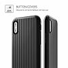 VRS Design Shine Coat iPhone X Siyah Kılıf - Resim 2