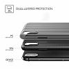 VRS Design Shine Coat iPhone X Siyah Kılıf - Resim 4