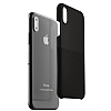 VRS Design Skin Fit iPhone X Siyah Kılıf - Resim 3