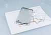 Vestel Venus 5000 Simli Silver Silikon Kılıf - Resim 1