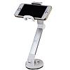 Viipow Ayarlanabilir Silver Telefon Tutucu ve Masaüstü Stand - Resim 1