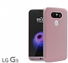 Voia Duo Series LG G5 Rose Gold Rubber K�l�f - Resim: 1