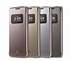 Voia LG G5 Uyku Modlu Pencereli Rose Gold Kılıf - Resim 4