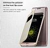 Voia LG G5 Uyku Modlu Pencereli Rose Gold Kılıf - Resim 2