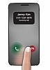 Voia LG G5 Uyku Modlu Pencereli Rose Gold Kılıf - Resim 1