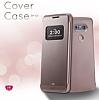 Voia LG G5 Uyku Modlu Pencereli Rose Gold Kılıf - Resim 3