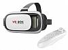 VR BOX Bluetooth Kontrol Kumandalı 3D Sanal Gerçeklik Gözlüğü
