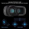 VR BOX Huawei P10 Bluetooth Kontrol Kumandalı 3D Sanal Gerçeklik Gözlüğü - Resim 8