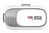 VR BOX iPhone 6 Plus / 6S Plus Bluetooth Kontrol Kumandalı 3D Sanal Gerçeklik Gözlüğü - Resim 1