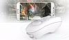 VR BOX iPhone 6 Plus / 6S Plus Bluetooth Kontrol Kumandalı 3D Sanal Gerçeklik Gözlüğü - Resim 4