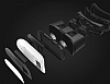 VR BOX Sony Xperia XA1 Ultra Bluetooth Kontrol Kumandalı 3D Sanal Gerçeklik Gözlüğü - Resim 1