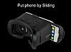 VR BOX Sony Xperia XA1 Ultra Bluetooth Kontrol Kumandalı 3D Sanal Gerçeklik Gözlüğü - Resim 7