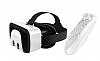 VR Shinecon 3D Glasses Bluetooth Kumandalı Sanal Gerçeklik Gözlüğü