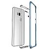VRS Design Crystal Bumper Samsung Galaxy S8 Blue Coral Kılıf - Resim 2