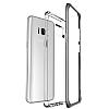 VRS Design Crystal Bumper Samsung Galaxy S8 Dark Silver Kılıf - Resim 2