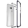 VRS Design Crystal Bumper Samsung Galaxy S8 Orchid Grey Kılıf - Resim 4