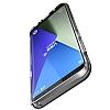 VRS Design Crystal Bumper Samsung Galaxy S8 Plus Dark Silver Kılıf - Resim 1