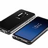 VRS Design Crystal Bumper Samsung Galaxy S9 Plus Steel Silver Kılıf - Resim 5