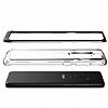 VRS Design Crystal Bumper Samsung Galaxy S9 Plus Steel Silver Kılıf - Resim 4