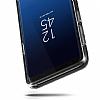 VRS Design Crystal Bumper Samsung Galaxy S9 Plus Steel Silver Kılıf - Resim 2