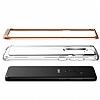 VRS Design Crystal Bumper Samsung Galaxy S9 Plus Blush Gold Kılıf - Resim 2