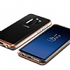 VRS Design Crystal Bumper Samsung Galaxy S9 Plus Blush Gold Kılıf - Resim 3
