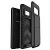 VRS Design Damda Folder Samsung Galaxy S8 Dark Silver Kılıf - Resim 3