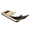 VRS Design Damda Folder Samsung Galaxy S8 Shine Gold Kılıf - Resim 2